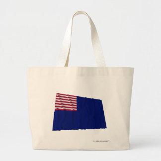 Pennsylvania Navy Flag Tote Bags