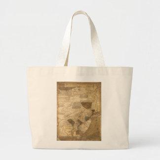 Pennsylvania New Jersey New York Map (1752) Bag