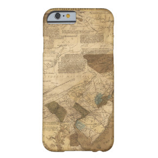 Pennsylvania New Jersey New York Map (1752) Barely There iPhone 6 Case