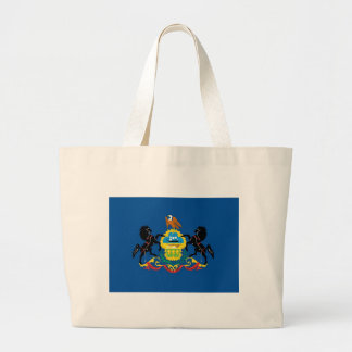 Pennsylvania  Official State Flag Canvas Bags