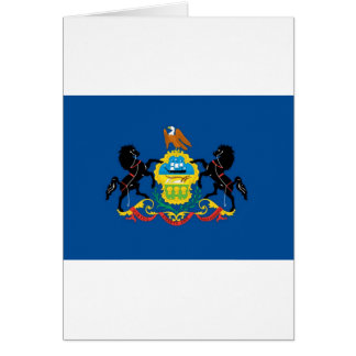 Pennsylvania  Official State Flag Card