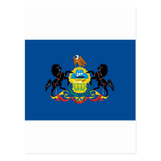 Pennsylvania  Official State Flag Postcard