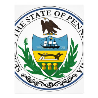 Pennsylvania Official State Seal Letterhead