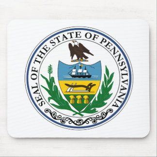 Pennsylvania Official State Seal Mouse Pad