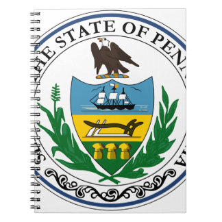 Pennsylvania Official State Seal Notebook