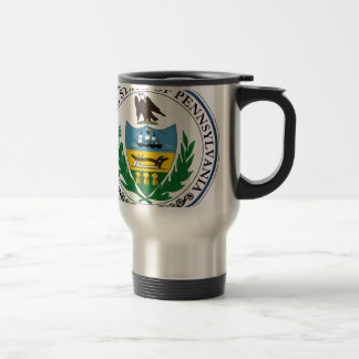 Pennsylvania Official State Seal Travel Mug