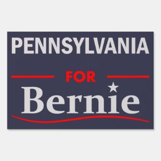 Pennsylvania para Bernie Letreros