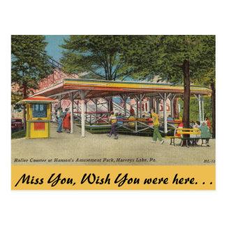 Pennsylvania, parque de atracciones de Hanson Postales