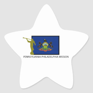 PENNSYLVANIA PHILADELPHIA MISSION LDS CTR STAR STICKER