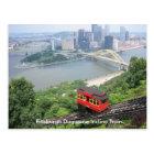 Pennsylvania Pittsburgh Duquesne Incline Train Postcard