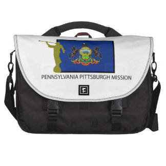 PENNSYLVANIA PITTSBURGH MISSION LDS CTR LAPTOP MESSENGER BAG