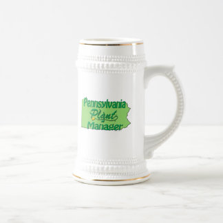 Pennsylvania Plant Manager Beer Stein