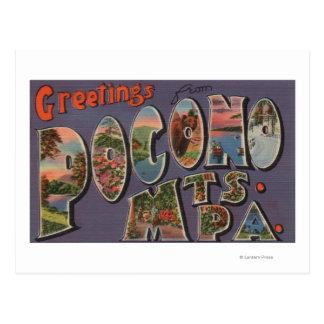 Pennsylvania - Pocono Mountians Tarjetas Postales