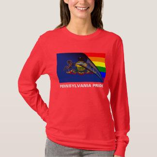 Pennsylvania Pride LGBT Rainbow Flag T-Shirt