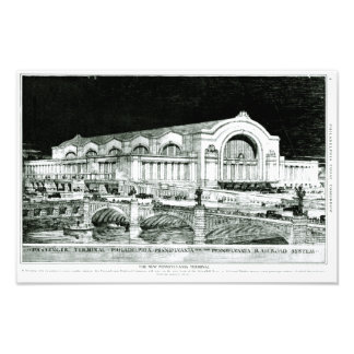 Pennsylvania Railroad 30th Street Station Photo Print