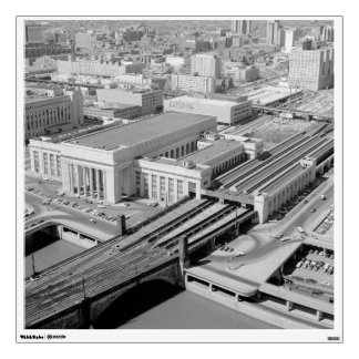 Pennsylvania Railroad 30th Street Station Wall Sticker