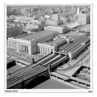 Pennsylvania Railroad 30th Street Station Room Decal