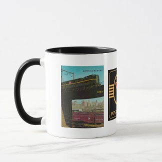 Pennsylvania Railroad Annual Report 1960 Mug