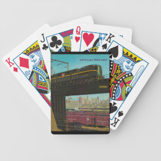 Pennsylvania Railroad Annual Report Bicycle Playing Cards