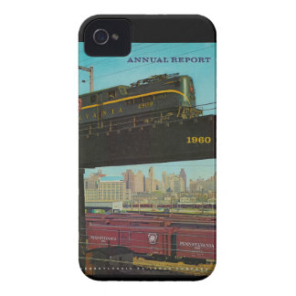 Pennsylvania Railroad Annual Report iPhone 4 Case