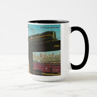 Pennsylvania Railroad Annual Report Mug