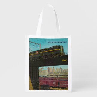 Pennsylvania Railroad Annual Report Reusable Bag