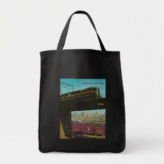 Pennsylvania Railroad Annual Report Tote Bag