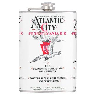 Pennsylvania Railroad Atlantic City Service 1904 Flasks