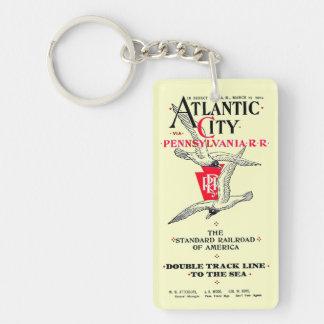 Pennsylvania Railroad Atlantic City Service 1904 Keychain