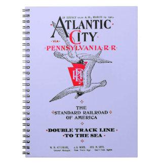 Pennsylvania Railroad Atlantic City Service 1904 Journals