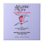 Pennsylvania Railroad Atlantic City Service 1904 Ceramic Tiles