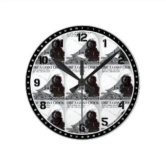 Pennsylvania Railroad Broadway Limited 1929 Round Wall Clocks