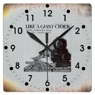 Pennsylvania Railroad Broadway Limited 1929 Clocks
