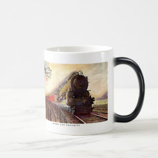Pennsylvania Railroad Broadway Limited Magic Mug