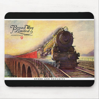 Pennsylvania Railroad Broadway Limited Mouse Pad