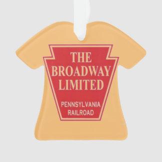 Pennsylvania Railroad Broadway Limited Ornament