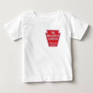Pennsylvania Railroad Broadway Limited Streamliner Baby T-Shirt