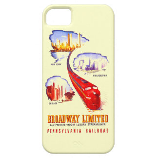 Pennsylvania Railroad Broadway Limited Streamliner iPhone SE/5/5s Case