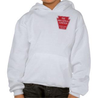 Pennsylvania Railroad Broadway Limited Streamliner Sweatshirt