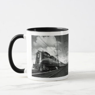 Pennsylvania Railroad Congressional Mug