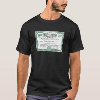 Pennsylvania Railroad CUSTOM Stock Certificate T-Shirt