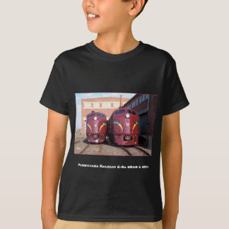 Pennsylvania Railroad E-8a,s  5809 and 5811 Kids T-Shirt