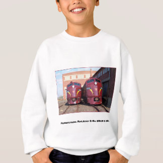 Pennsylvania Railroad E-8a,s 5809 and 5811 Sweatshirt