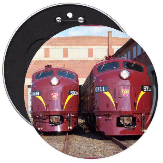 Pennsylvania Railroad E-8a,s (JTFS) 5809 and 5711 Buttons