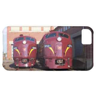 Pennsylvania Railroad E-8a,s (JTFS) 5809 and 5711 iPhone 5C Cover