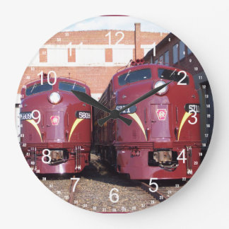 Pennsylvania Railroad E-8a,s (JTFS) 5809 and 5711 Large Clock