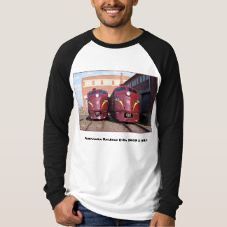 Pennsylvania Railroad E-8a,s (JTFS) 5809 and 5811 T-Shirt