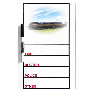 Pennsylvania Railroad GG1 #4800 Side View Dry Erase Whiteboards
