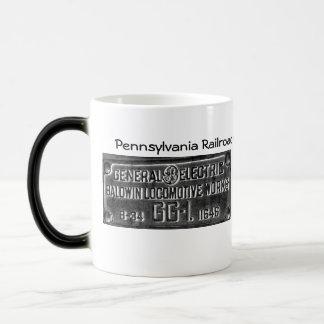 Pennsylvania Railroad GG-1 #4800 Builders Plate Magic Mug