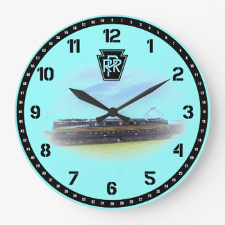 Pennsylvania Railroad GG-1 #4800 Side View Clocks
